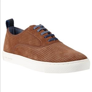 Ted Baker Odonel Suede Leather Oxford Shoes
